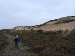 Exploring around the dune