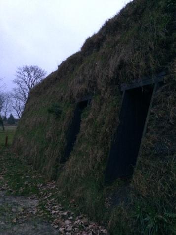 Peat walls