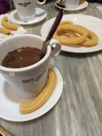 Chocolate y churros