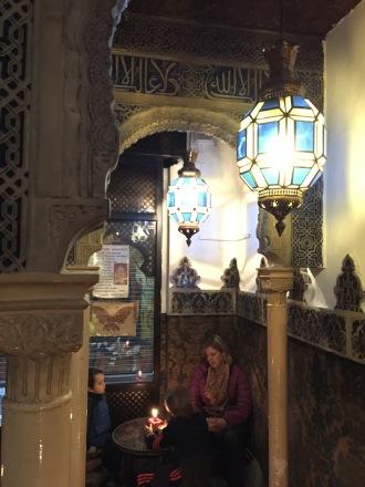 Arabic tea house