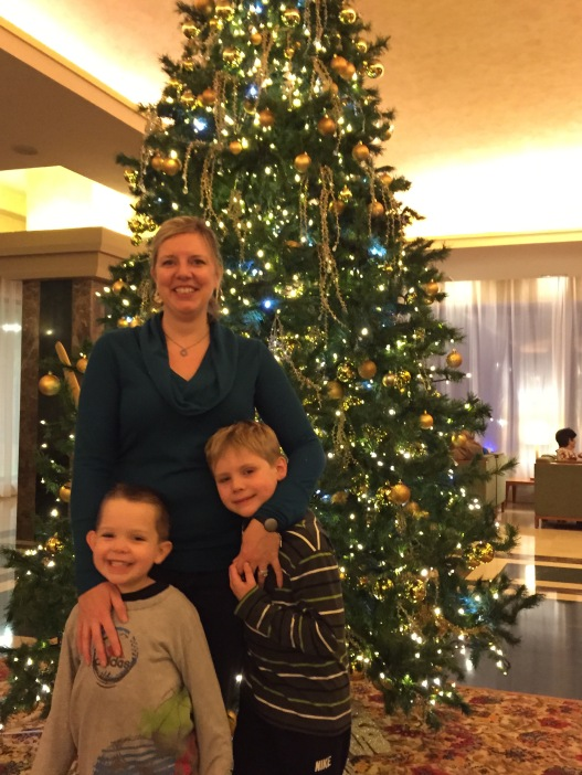 Christmas Eve at the hotel