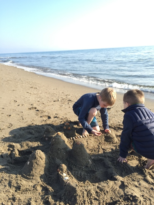 Building one of many castles