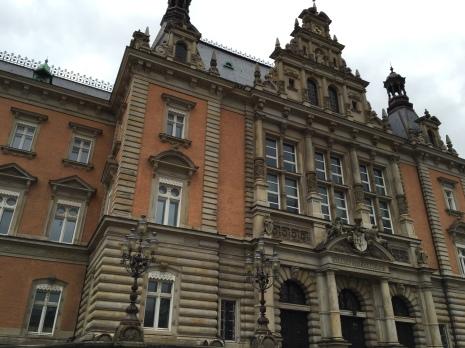 Beautiful old building in Hamburg