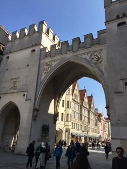 Entrance to Neuhauserstrasse