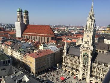 Marienplatz from above