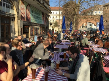 One last beer in Munich