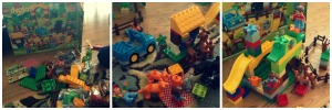 Duplo collage