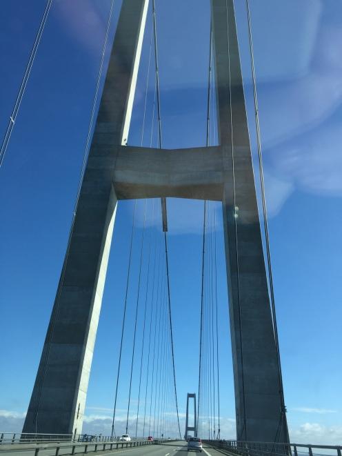 Bridge crossing onto Sealand