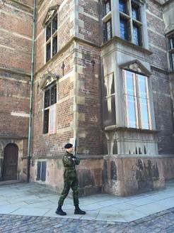 Young looking guards... but big guns!