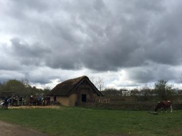 Rustic huts