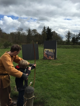 Archery lessons for M