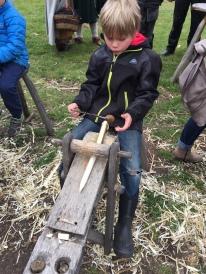 What kid doesn't like sharp sticks?!