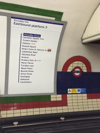 Love taking the tubes in London - but you miss too much of the city...