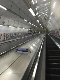 Longest, steepest escalator EVER